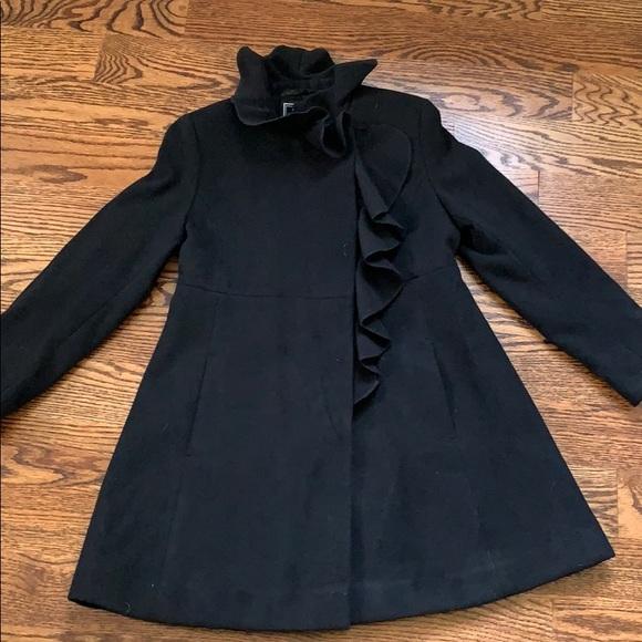 Girls Rothschild black dress coat size 8